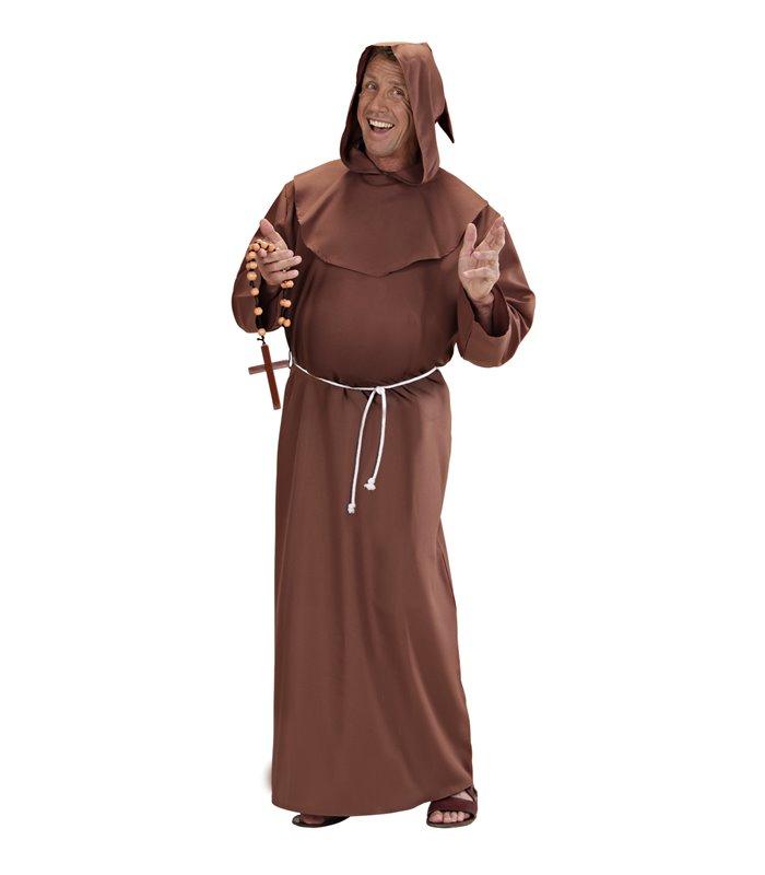 DELUXE MONK COSTUME (robe hood belt)