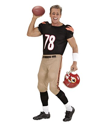 AMERICAN FOOTBALLER (stretch stuffed T-shirt & pants)