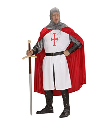 CRUSADER R/W (coat pants belt armband hat bcovers cape)