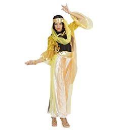 HAREM DANCER GOLD (shirt jacket pants belt hat)
