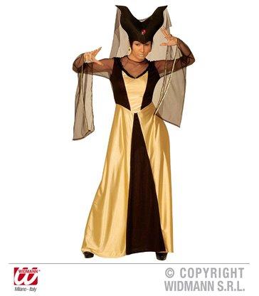 ENCHANTED CASTLE QUEEN (dress hat w/veil)
