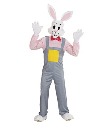 COUNTRY RABBIT COSTUME (jumpsuit hands feet mask)