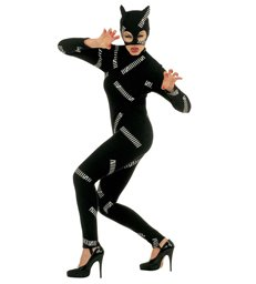 CAT GIRL COSTUME (jumpsuit mask)