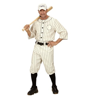 BASEBALL PLAYER (shirt pants with belt cap)
