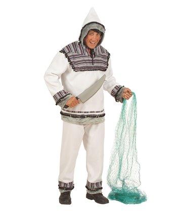 ESKIMO COSTUME (hooded coat pants)