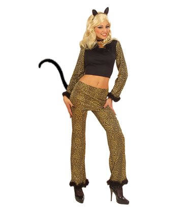 LEOPARD COSTUME (top pants)