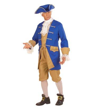 COLONIAL MAN (jacket w/vest jabot pants hat shoe buckle)