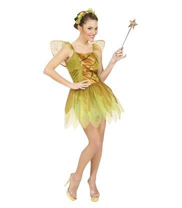 GOLDEN FOREST PIXIE (dress wings headpiece)