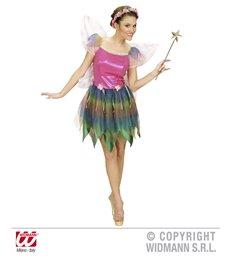 RAINBOW FAIRY COSTUME (dress wings)