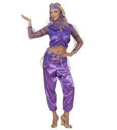 ODALISQUE PURPLE (shirt pants belt headpiece w/veil)
