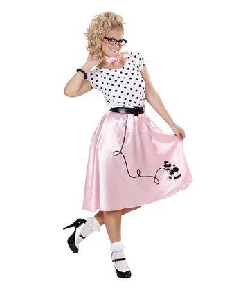 50s POODLE GIRL (dress belt neckerchief)