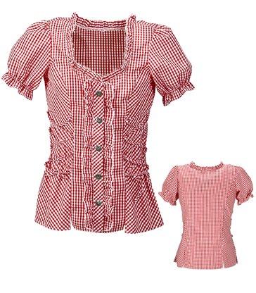 BAVARIAN RED blouse