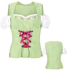 BAVARIAN GREEN blouse