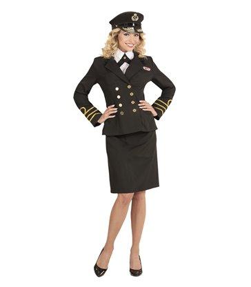 NAVY OFFICER (jacket shirt collar skirt hat)
