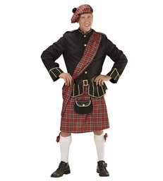 SCOTSMAN (jacket skirt belt purse hat)