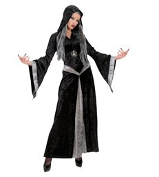 SORCERESS (hooded robe necklace)