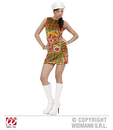VELVET 60s MOD CHICK (dress hat)