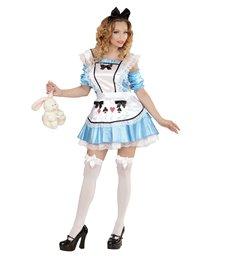 WONDERLAND GIRL (dress w/underskirt sleeves apron bow h