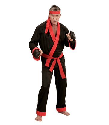 KICK BOXER (coat pants belt headband gloves)