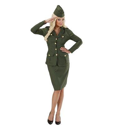 WW2 SOLDIER GIRL (jacket skirt hat)