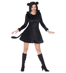 BLACK PANTHER (hooded dress)