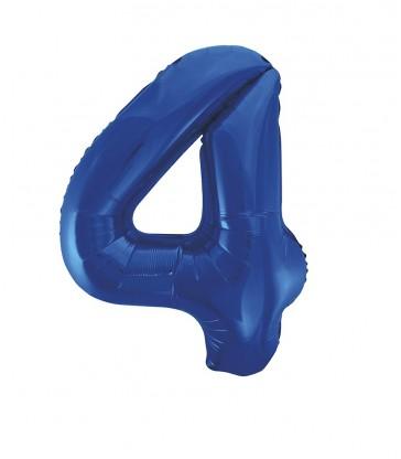 "34"" PKG BLUE GLITZ FOIL BALLOON-4"