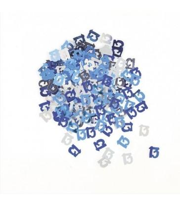 BLUE GLITZ 13 CONFETTI .5OZ