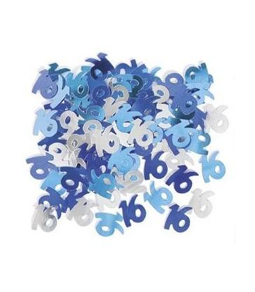 BLUE GLITZ 16 CONFETTI .5OZ