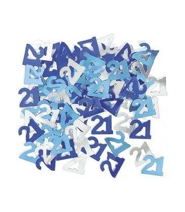BLUE GLITZ 21 CONFETTI .5OZ