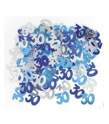 BLUE GLITZ 30 CONFETTI .5OZ