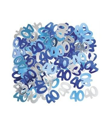 BLUE GLITZ 40 CONFETTI .5OZ