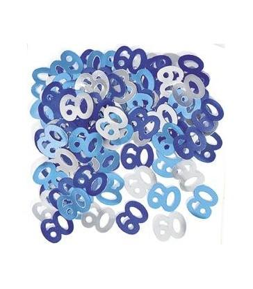BLUE GLITZ 60 CONFETTI .5OZ