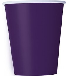 14 DEEP PURPLE 9 OZ. CUPS