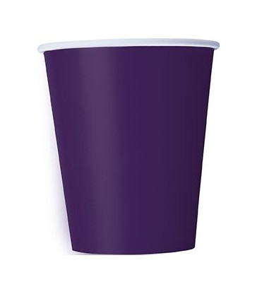 14 DEEP PURPLE 9 OZ. CUPS