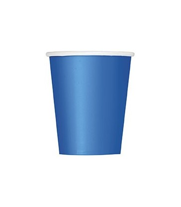 14 ROYAL BLUE 9 OZ. CUPS