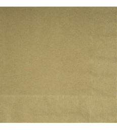 20 GOLD LUNCH NAPKINS