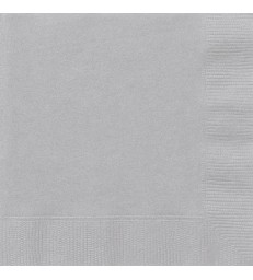 20 SILVER LUNCH NAPKINS