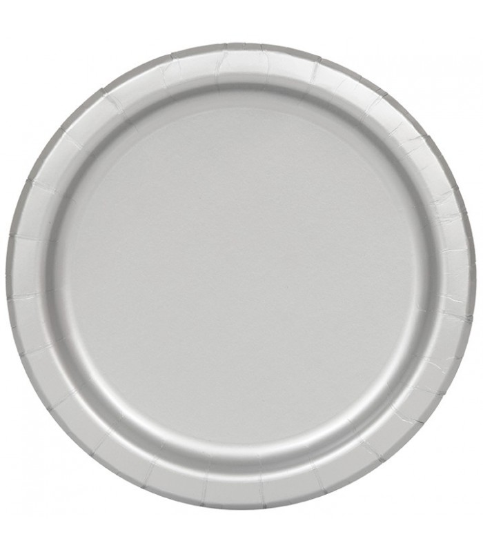 20 SILVER 7'' PLATES