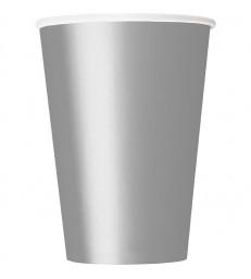 14 SILVER 9 OZ. CUPS