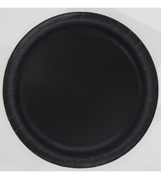 20 MIDNIGHT BLACK 7'' PLATES