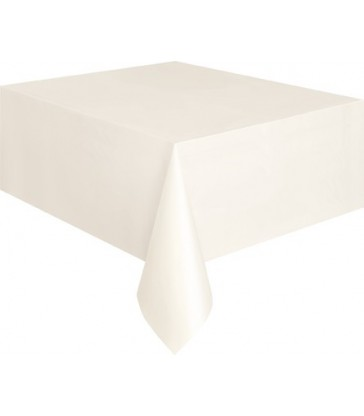 IVORY TABLECOVER 54X108