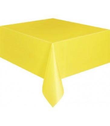 SUNFLOWER YELLOW TABLECOVER 54X108