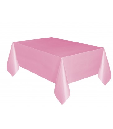 LOVELY PINK TABLECOVER 54X108