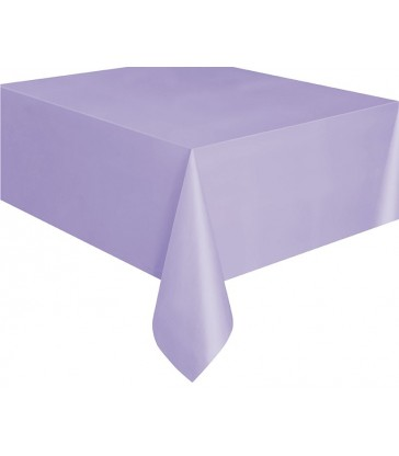 LAVENDER TABLECOVER 54X108