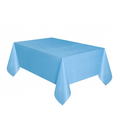 POWDER BLUE TABLECOVER 54X108