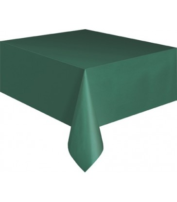 FOREST GREEN TABLECOVER 54X108