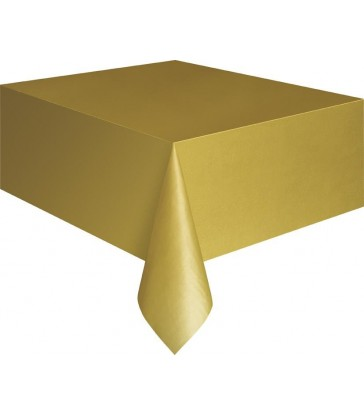 GOLD TABLECOVER 54X108