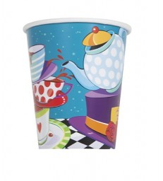 8 MAD TEA PARTY 9OZ CUPS