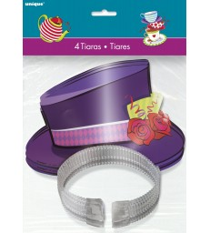 4 MAD TEA PARTY TOP HAT TIARAS