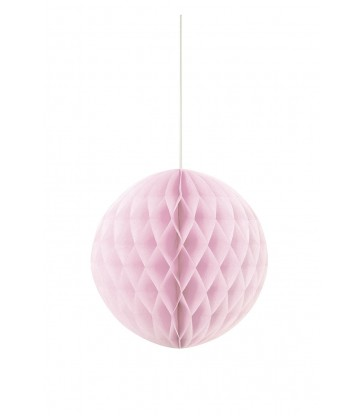 "HONEYCOMB BALL 8"" LOVELY PINK"